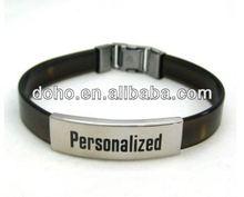Newly designing bracelet silicone (SW-34)