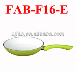 Cute Style Ceramic Aluminum Non-stick Frying Pan Matching Handle Manufacture