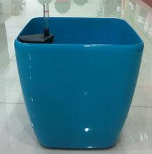 3111,recycle plant pot, shiny and glazed flower pot, plastic pot,ceramic planter similar