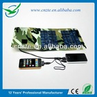 Newest 5000mah solar panel car battery charger for charging mobile phone with foldable solar panel 5W