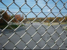on promotion high quality and very popular plastic chain link fence ( 22 years factory)