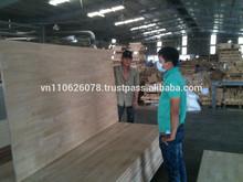 Rubber finger wood/Oak Edge Glued Panel-timber sawn