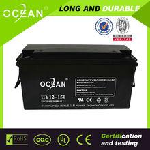 2014 Ocean 12 volt 150AH 12 Volt rechargeable batteries plus 12 Volt use for UPS Solar