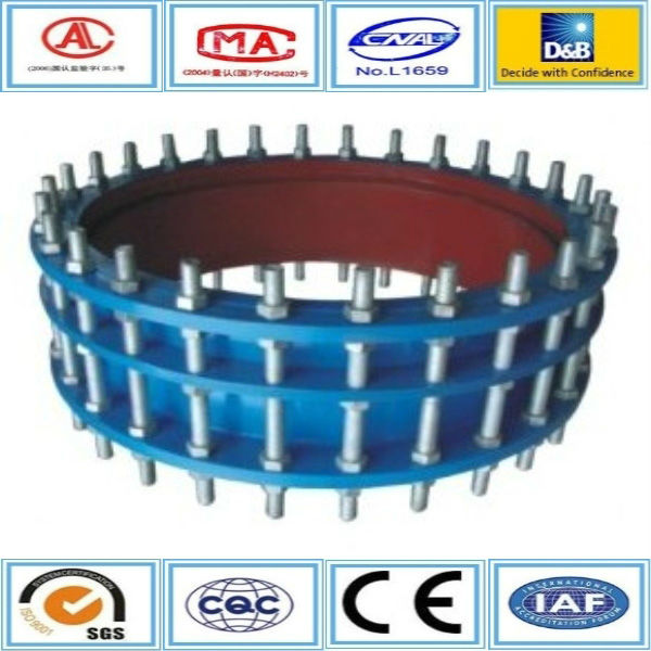 Double flanged connecting pipes carbon steel expansion joints