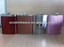 8oz stainless steel hip flask factory