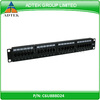 "19"" UTP 24 Port Cat6 Patch Panel Krone 110 Dual IDC with Label Mark"