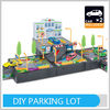 Funny DIY Toys Set 3 Layer Plastic Parking Lot Best Kid Toy