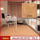 Orange color ceramic floor tile 600x600mm