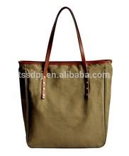 Te Shun 2014 New Design Women handbag, canvas shopping bag, canvas tote bag