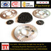 Spare parts for chinese motorcycles,high quality motorcycle chain sprocket,roller chain sprockets of best price