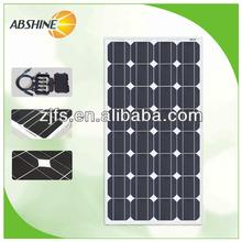 80W semi-flexible solar panel w/ MC4 connectors FREE POST Caravan Motorhome 12V