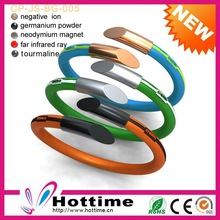 Vintage Colorful Germanium Make Rubber Band Bracelet