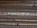 Redonda vara de bambu cortina/obturador de bambu