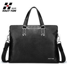 wholesale 2014 new arrival leather laptop messenger bag