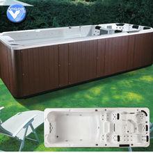 (Factory)2012 NEW luxury 6 meter swimming pool spa / endless swimming pool
