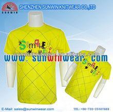 2012 Men's wholesale 100 cotton fabric for t-shirt