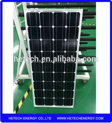 China products monocrystalline 100w solar panel price