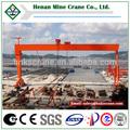 grande extensão montado em trilho de viga dupla shipbuilding gantry crane
