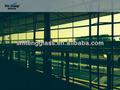 De sécurité commerciale et la Construction résidentielle rideau mur de verre