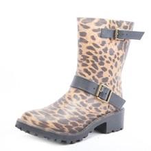 fashion mature rain boots ladies women wellingtons