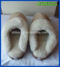 sheepskin indoor slippers women