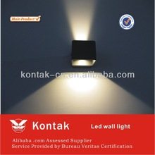 China supplier high quality 6*1W square led wall light modern Ce&Rohs approved (KT40-WL11)