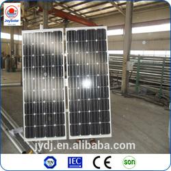 Best price high efficiency solar panel monocrystalline 140w