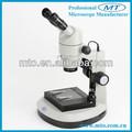 Mzps0850 8X-50X paralelo sistema óptico binocular con zoom estéreo microscopio que son ampliamente utilizado en ciencias de investigación