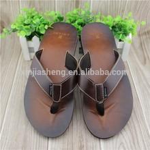 2014 cool summer innovate EVA sandal man beach slipper custom printed flip flops