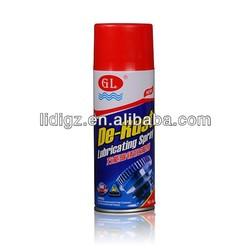 450ml Car and Industrial Use Aerosol Oil Anti Rust Spray