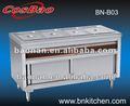 Comida buffet caliente/calentador de alimentos para la restauración/papasfritas eléctrica más caliente