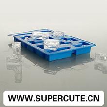Tetris venta al por mayor en forma de silicona reutilizable Mini fábrica de cubos de hielo
