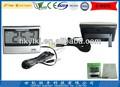 nuevo estilo de la pantalla lcd digital termómetro digital con termómetro y piezas con conexión de cable de interior y al aire libre digital termómetro