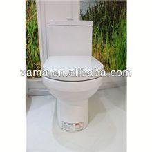 S/P-Trap 3L/6L Whole Sale Siphonic Flushing Single Toilet