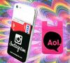 silicone smart case wallet for mobile card holder