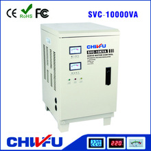 CE ROHS approved 10KVA vertical style svc single phase automatic whole house voltage stabilizer