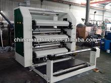 Film paper plastic bag multi-functional three color printing machinery