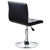 Modern leather bar stool/ swival and adjustable bar chair