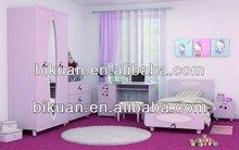 Cheap hot sale modern sweet bed sets bedroom furniture