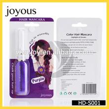 joyous high quality simple used temporary hair dye hair color mascara