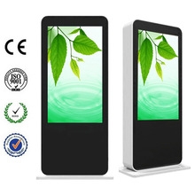 55 Inch HD Floor Standing Outdoor Interactive Touch LCD Kiosk