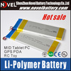 Low Price 3.7v 5400mAh Lithium Polymer Battery Special for Tablet PC MID DVD