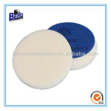 white foam buffing pad for car polishing