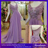 Beautiful A-Line Ruffle Big Bow Trimming Crystal Chiffon Prom Dresses 2014 Vestidos De Fiesta