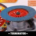 """T29 4.5"""" en kaliteli aşındırıcı bez flap diskler, çin tedarikçi"""