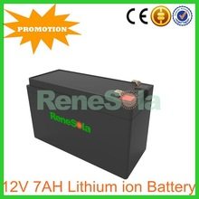 12.8V 7AH LiFePO4 energy storage ups battery pack