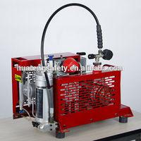 portable mini air compressor for breathing apparatus