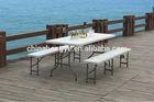 2014/2015 hot sale 6 feet plastic folding table