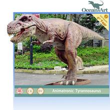 amusement park animatronic dinosaur t-rex
