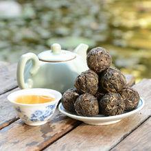 Chinese fat loss tea Yunnan organic pearls dragon puerh tea